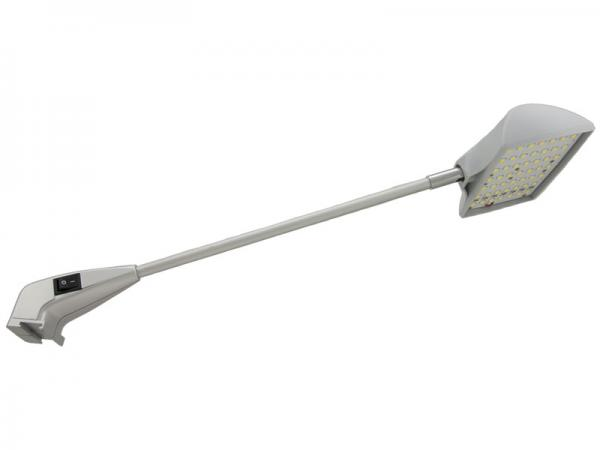 LED8822 LED Wall Washing Arm Light - Silver