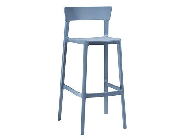 CEBS-026 | Blade Barstool Sky Blue-- Trade Show Furniture Rental