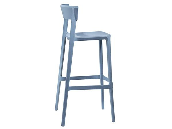CEBS-026 | Blade Barstool  Sky Blue - Trade Show Furniture Rental