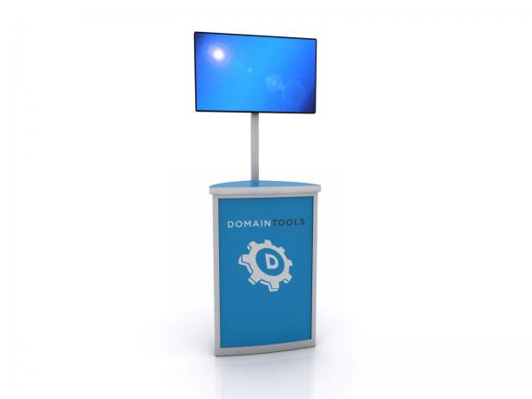 MOD-1561 Trade Show Monitor Stand -- Image 2