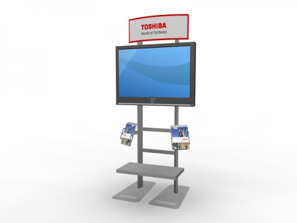 MOD-1248 Workstation/Kiosk for Trade Shows and Events -- Image 3