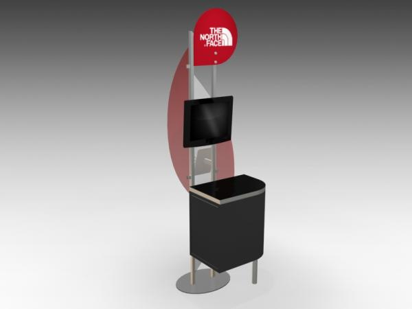 MOD-1274 Trade Show Workstation -- Image 3