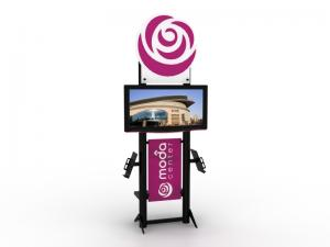 MOD-1404 Monitor Stand for Trade Shows or Events -- Image 1