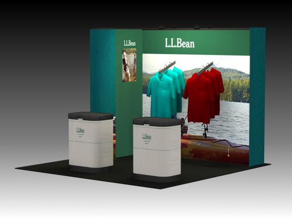 QD-136 Trade Show Pop Up Exhibit