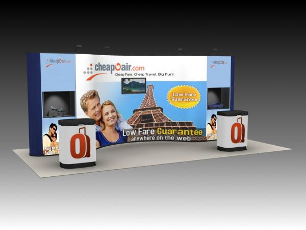 QD-220 Tradeshow Pop Up Exhibit -- Image 1