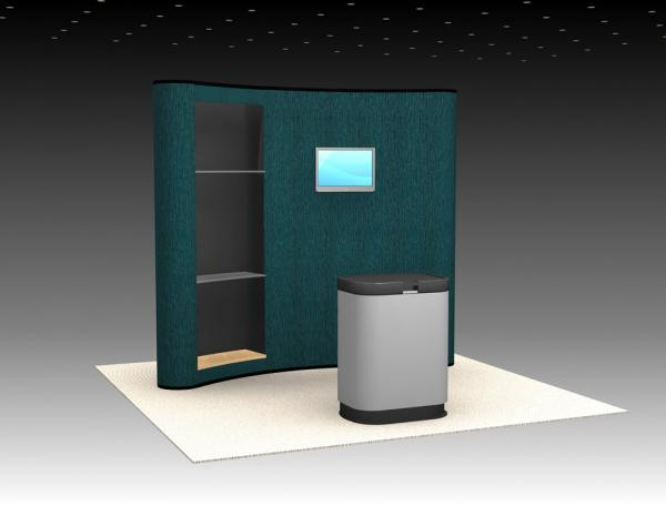 QD-107 Trade Show Pop Up Display