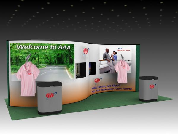 QD-210 Trade Show Pop-up Display